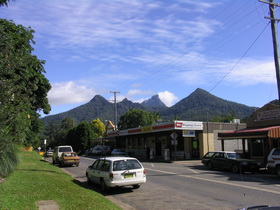 Mt Warning, Mt Uki and The Sisters