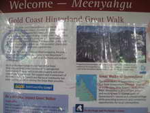 Gold Coast walk signage