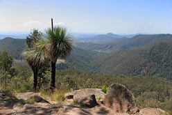 View over the Great dividing range