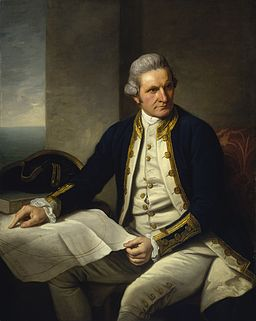 Portrait of Cook by Nathaniel Dance
