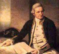 Captain Cook portrait